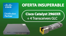 Oferta Insuperable Cisco Catalyst 2960XR
